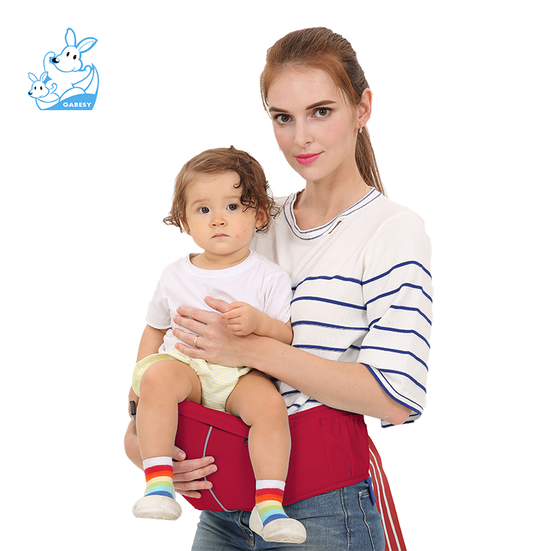Baby Sling Baby Single Stool Ergonomic Kids Baby Buttocks Seat Breathable Backpack Sachet Packed Baby Sling ...