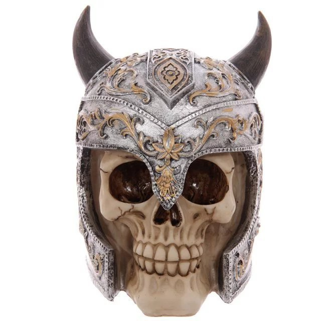 Halloween Decoration Resin material Skull Personality decoration