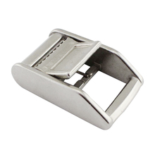 1Stainless Steel Cam Flap Buckle for 25mm Width Tie Down Luggage Cargo Load Lash Strap Silver