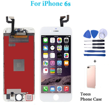 LCD for iPhone 6S Display Assembly Touch Screen Digitizer for iPhone 6s Pantalla Complete Replacement LCD With 2Gifts 20pcs none spot lcd pantalla for iphone 6s 4 7 lcd display touch screen replacement digitizer full assembly free dhl shipping