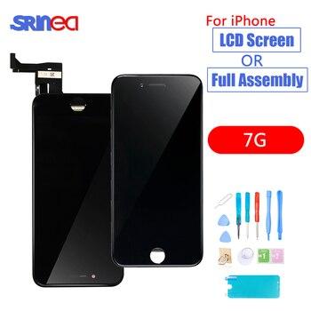 4dde8892315 AAAA OEM LCD para iPhone 7 7G A1660 A1778 A1779 pantalla LCD 3D pantalla  táctil conjunto