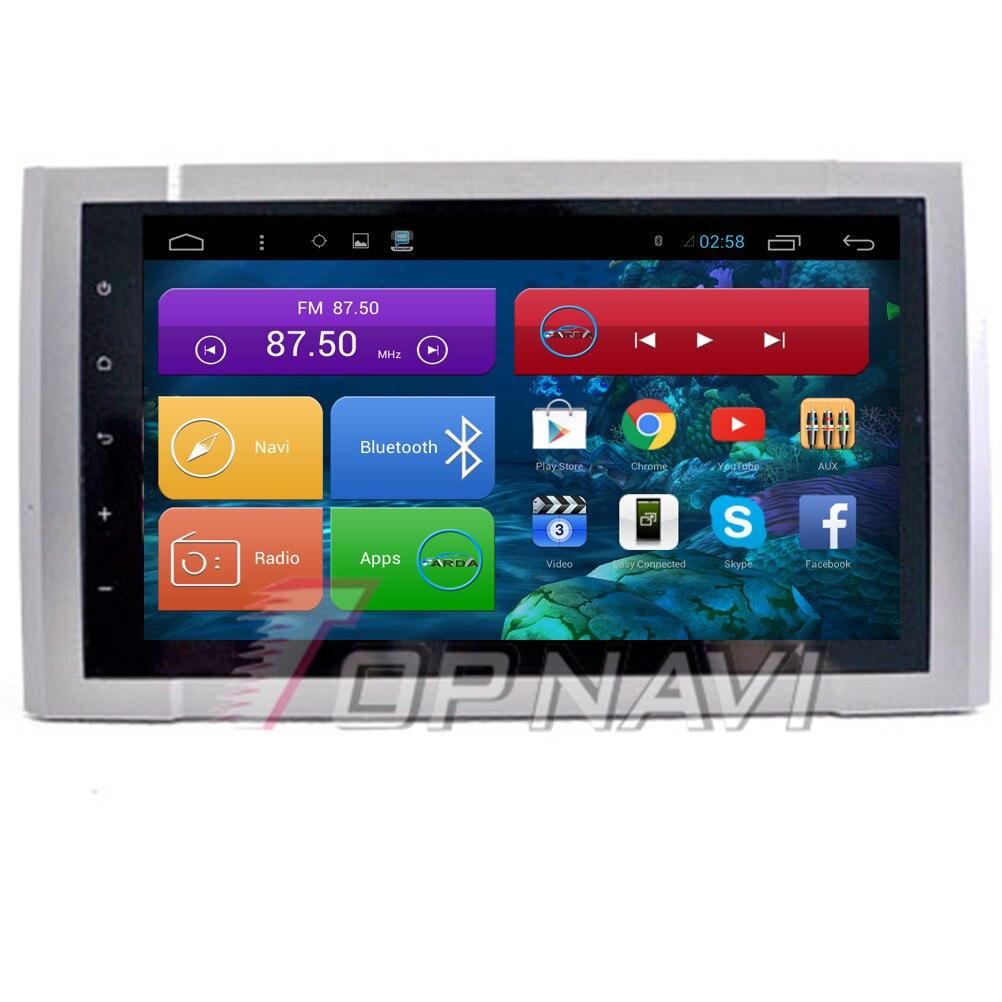 Topnavi 9 ''Quad Core Android 6.0 voiture GPS Navigation pour Toyota Tundra Autoradio multimédia Audio stéréo, pas de DVD