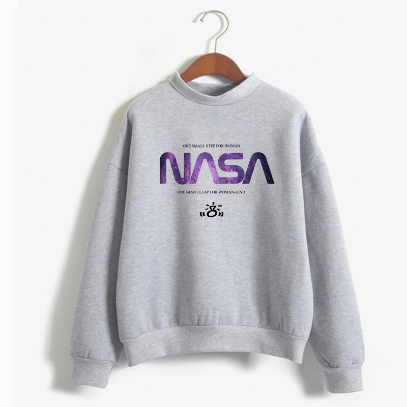 Women Hoodies I'ma Be In Space Seven Rinngs Girl Power Feminist Hoody Hot Sale Ariana Grande Space Sweatshirt