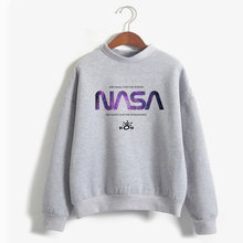 Women Hoodies I'ma Be In Space Seven Rinngs Girl Power Feminist Hoody Hot Sale Ariana Grande Space Sweatshirt(China)