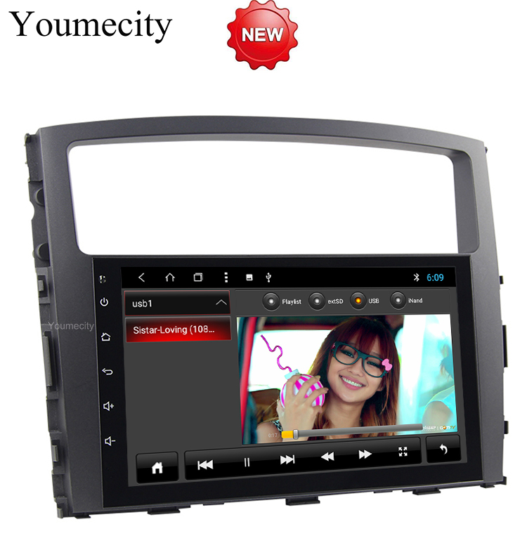 9 inch Android 8.1 Octa 8 Core 2G RAM 32G ROM Car DVD Player for Mitsubishi Pajero V97 2007-2015 Radio GPS Navigation BT WIFI ownice c500 4g sim lte octa 8 core android 6 0 for kia ceed 2013 2015 car dvd player gps navi radio wifi 4g bt 2gb ram 32g rom