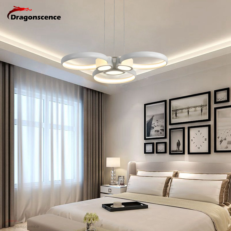 Dragonscence Modern suspension LED chandelier hangingchandelier lighting LED fixtures for kitchen bed dining room lamp parrots dragonfly led kitchen dining