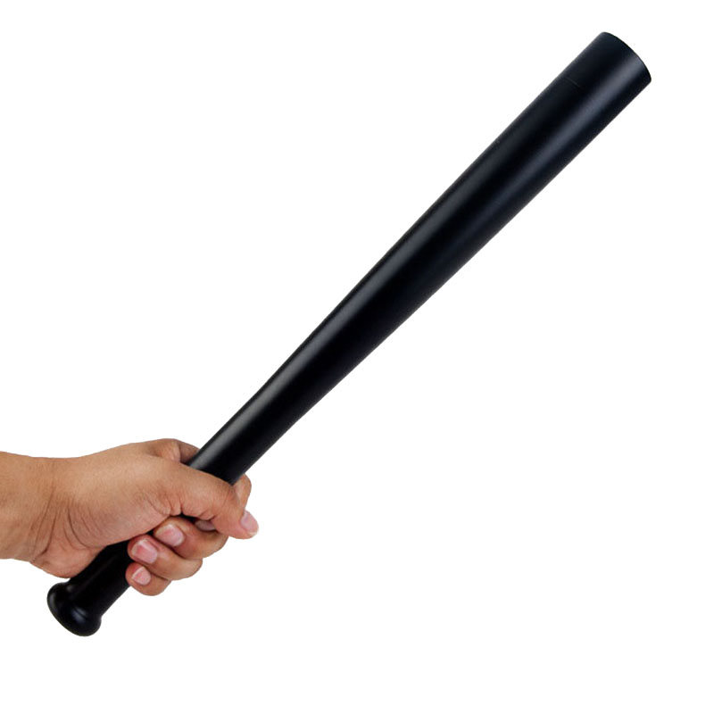 Utendørs Emergency LED Lang lommelykt Oppladbar Selvforsvar Glare Lommelykt Utvidet Baseball Bat Anti Riot Equipment
