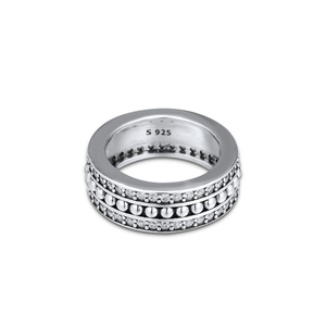 Image 5 - CKK Forever Signature Ring 925 Sterling Silver Clear CZ Wedding Original Rings for women Silver 925 anillos mujer Fine Jewelry