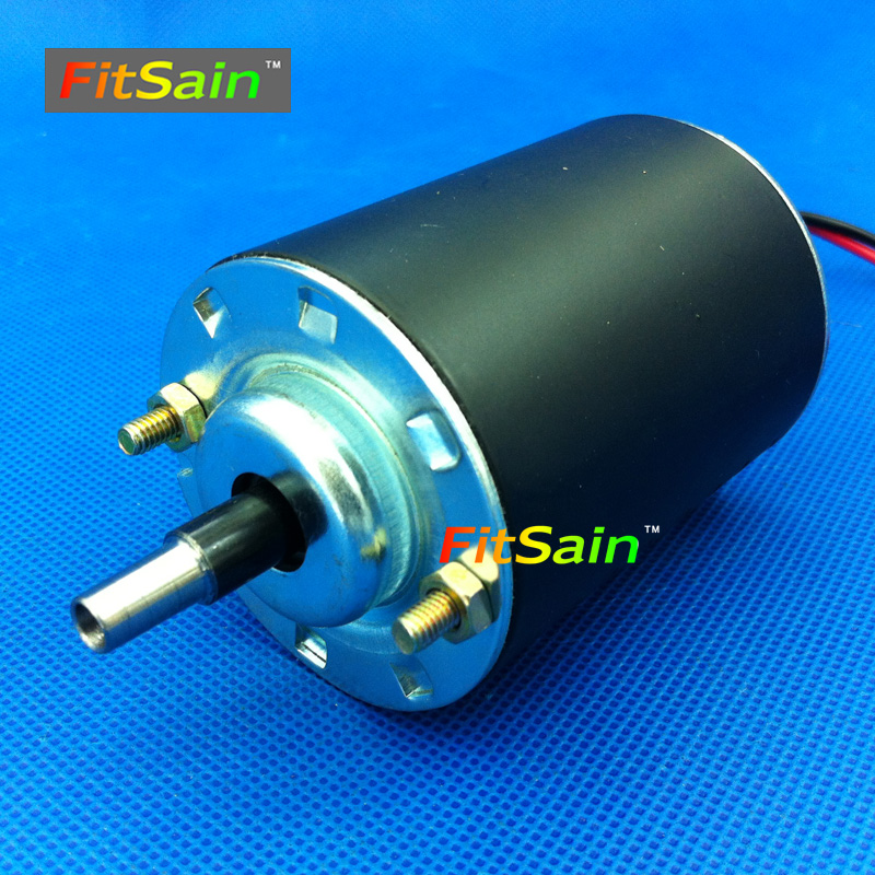 FitSain--24V 8000rpm 4mm Hollow JT0 shaft taper shaft motor Floating bed motor Float for fishing Double ball bearing mini lathe pro jewelry floating mini charms for floating locket