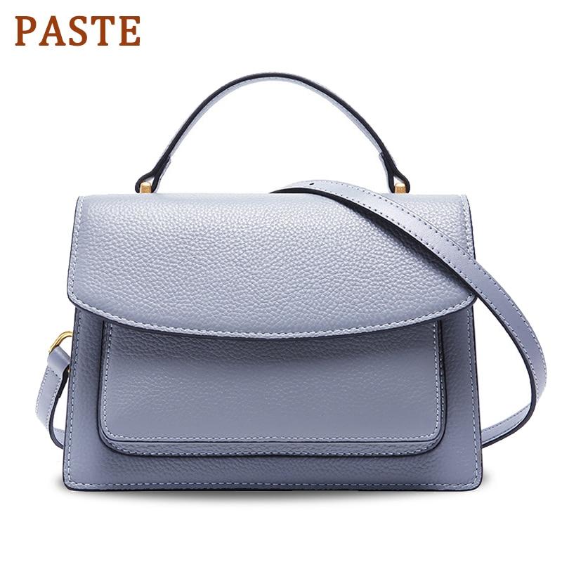 Paste Famous Brand Shoulder Bag For Women Luxury Cossbody 100% Real Leather Flap Crossbody Bag Designer Ladies Totes Bags Bolsa