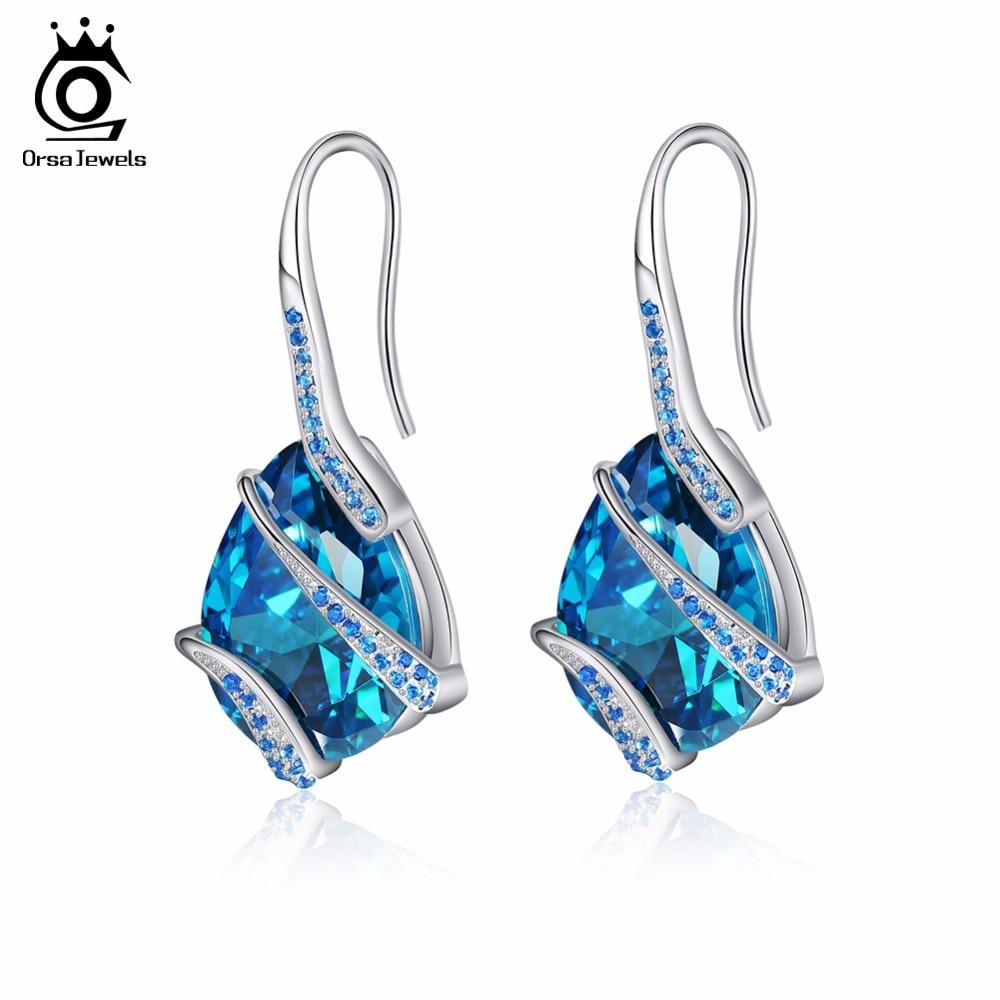 Aliexpress.com : Buy ORSA JEWELS Women Earrings Stud 100% ...