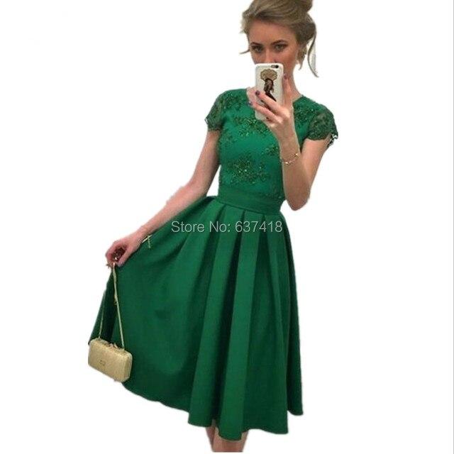 Vestidos De Coctel Verde Esmeralda Vestidos De Punto 2019