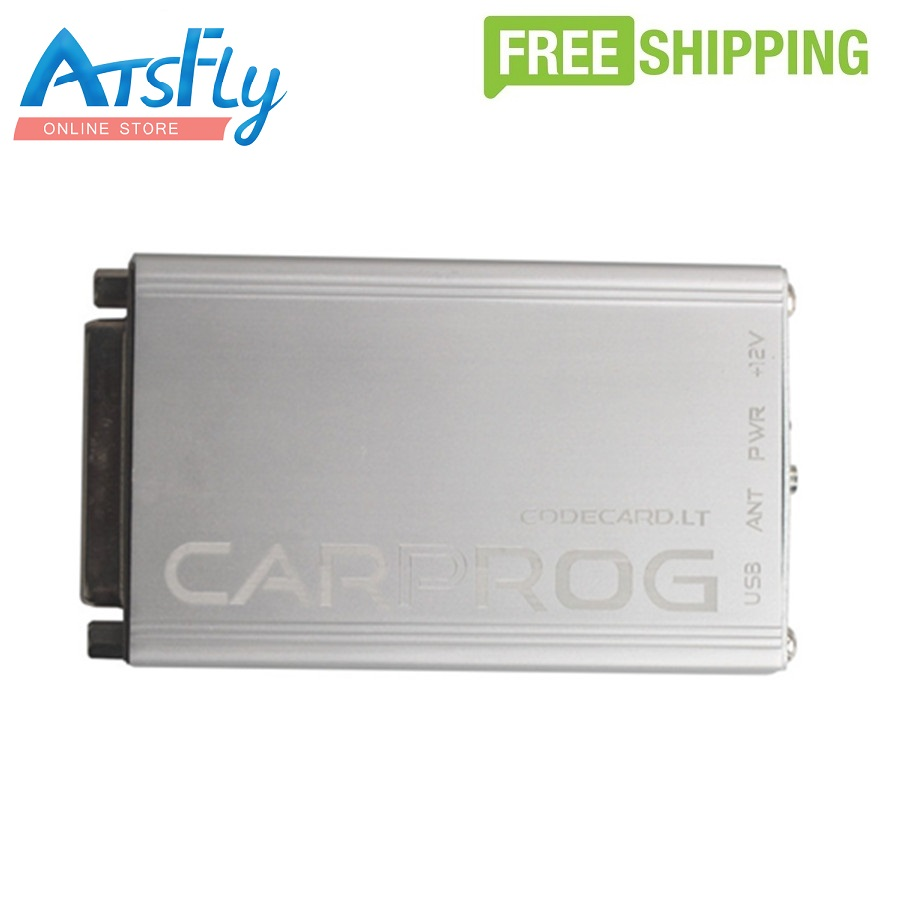 все цены на  Free shipping Carprog Full V8.21 Firmware Perfect Online Version with All 21 Adapters Including Much More Authorization Carprog  онлайн