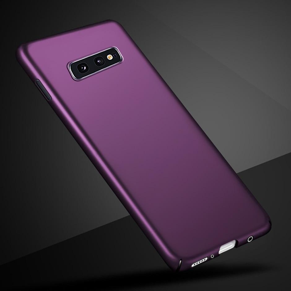 For Samsung Galaxy S10E Case 5.8 inch Slim Hard PC Back Cover For Samsung Galaxy S10E S 10e Phone Case Funda For Samsung S10E