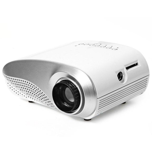 Multimedia LED MiNi Pico Proyector Portátil Con USB SD VGA HDMI AV HD Proyector de Cine En Casa Projektor Para Video Juegos Enchufe de LA UE