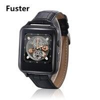 Fuster MTK6261 Karty Sim Inteligentny Zegarek wsparcie Radio FM i Nagrywania Wideo Odtwarzacz Smartwatch Whatsapp/Zegarek Facebook