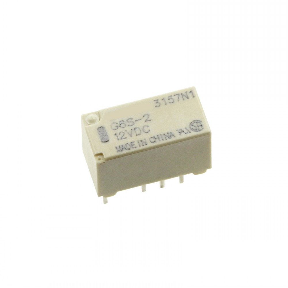 10PCS G6S-2-12VDC 12VDC ORIGINAL OMRON Relay 8pins