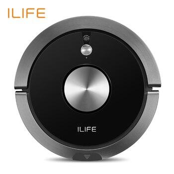 ILIFE A9s Новый планируется робот-пылесос с APP Управление ,влажная и сухая уборка,с i-move навигацией и пылесборником  большой емкости
