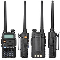 128ch 5w vhf uhf  Baofeng שתי דרך רדיו UV-5R מכשיר הקשר המקצועי CB רדיו Baofeng UV5R משדר 128CH 5W VHF & UHF כף היד UV 5R (2)