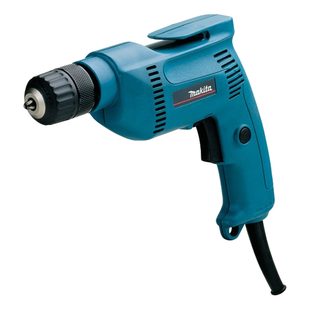 Electric drill Makita 6408 Power 530 W, maximum speed from 0 to 2500 rpm reverse) machine drill sturm bd7045 power 450 w cartridge from 0 to 16mm speed from 280 to 2350 rpm