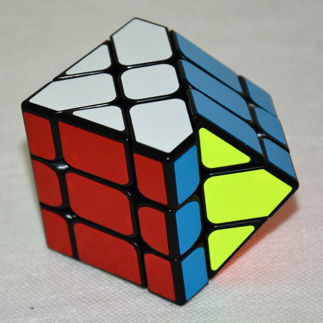Image 5 - New Arrival YongJun YJ Speed 3X3X3 Fisher Cube Magic Cubes Speed Puzzle Learning Educational Toys For Children Kids cubo magico-in Magic Cubes from Toys & Hobbies