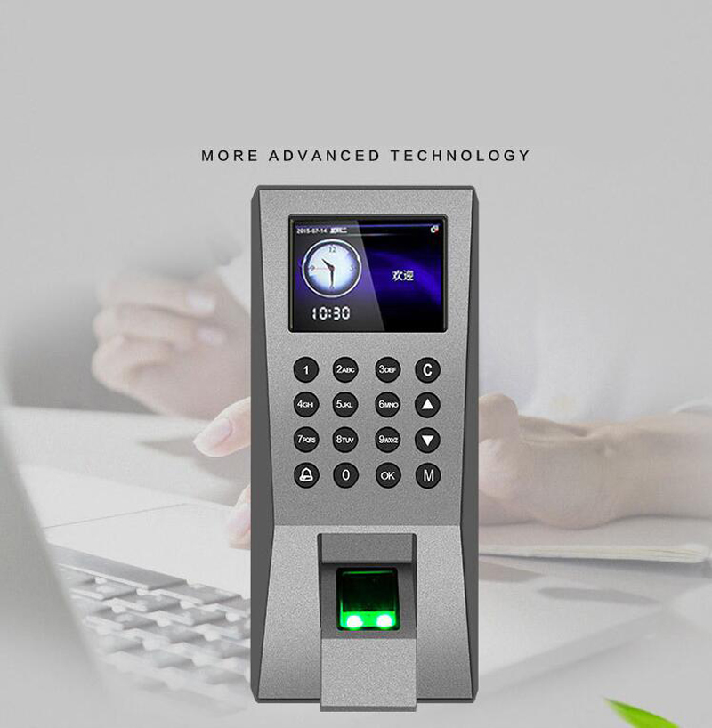Biometric Fingerprint Access Control Employee Time Attendance Time Clock RFID Biometric Access USB Port