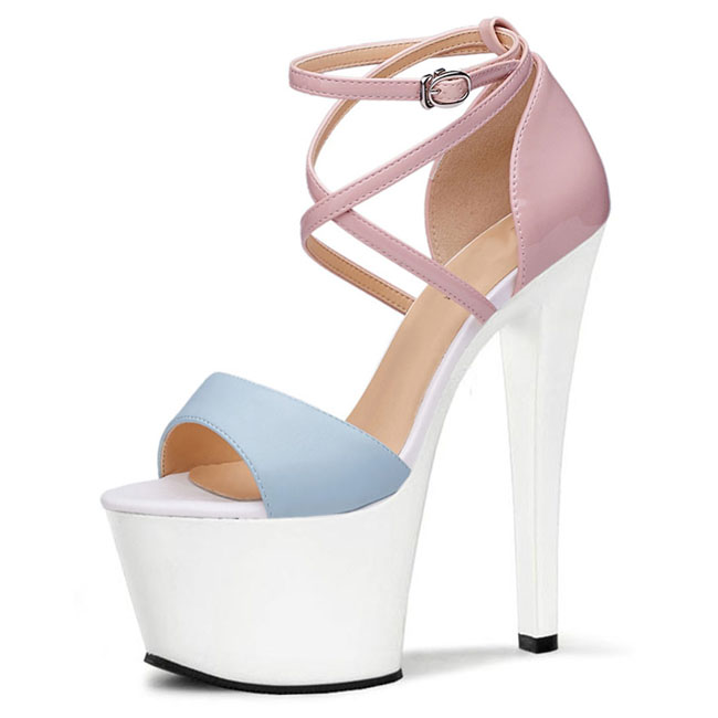 Fashion parties shoes women sexy ankle strap shoes summer sandals women's shoes
