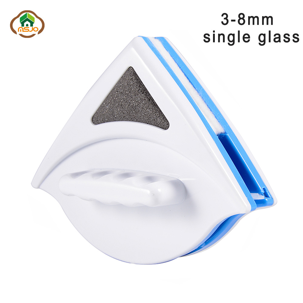 MSJO Double-Side Window Cleaner Magnetic Device For Washing Window Wizard Brush Single 3-8mm Glass Wiper Car Sponge BrushMSJO Double-Side Window Cleaner Magnetic Device For Washing Window Wizard Brush Single 3-8mm Glass Wiper Car Sponge Brush