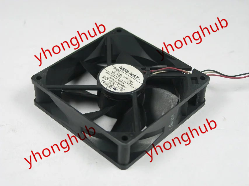 NMB-MAT 3610KL-04W-B39, C07 DC 12V 0.20A   92x92x25mm Server Square fan nmb mat 3110kl 04w b49 b02 b01 dc 12v 0 26a 3 wire server square fan