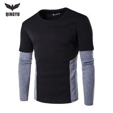 2016 herbst winter hoody europäischen stil hip hop männer Neue marke top drake streetwear fleece mode Gefälschte zwei hoodies sweatshirt