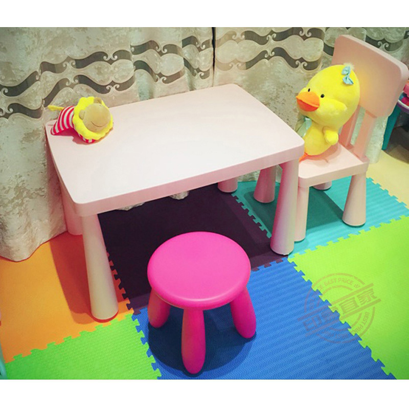 Children Furniture Study Desk And Chair Desk Square Table Game Table In Children  Chairs From Furniture On Aliexpress.com | Alibaba Group