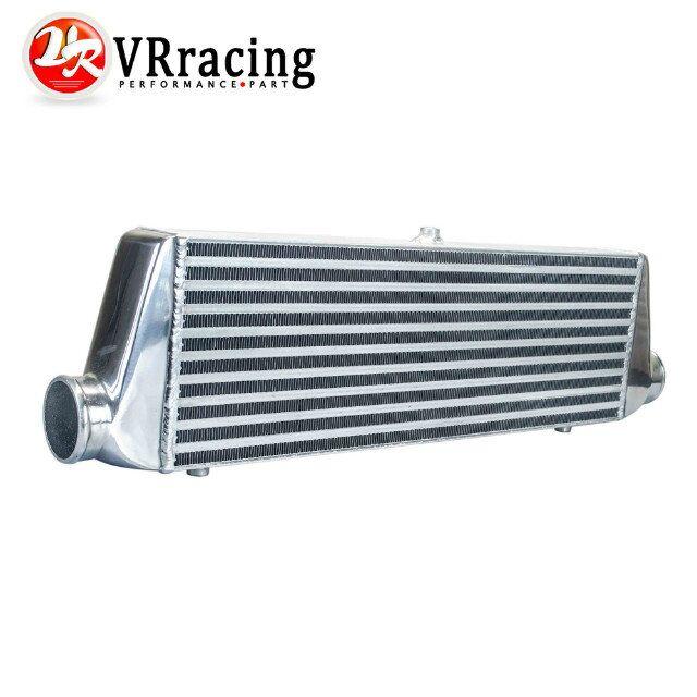 VR RACING 550 180 65mm Universal Turbo Intercooler bar plate OD 2 5 Front Mount intercooler