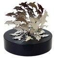 Magnetic esculturas golfinhos/magentic mesa escultura de arte/brinquedo diy perpetual motion/para a ciência fun/frete grátis