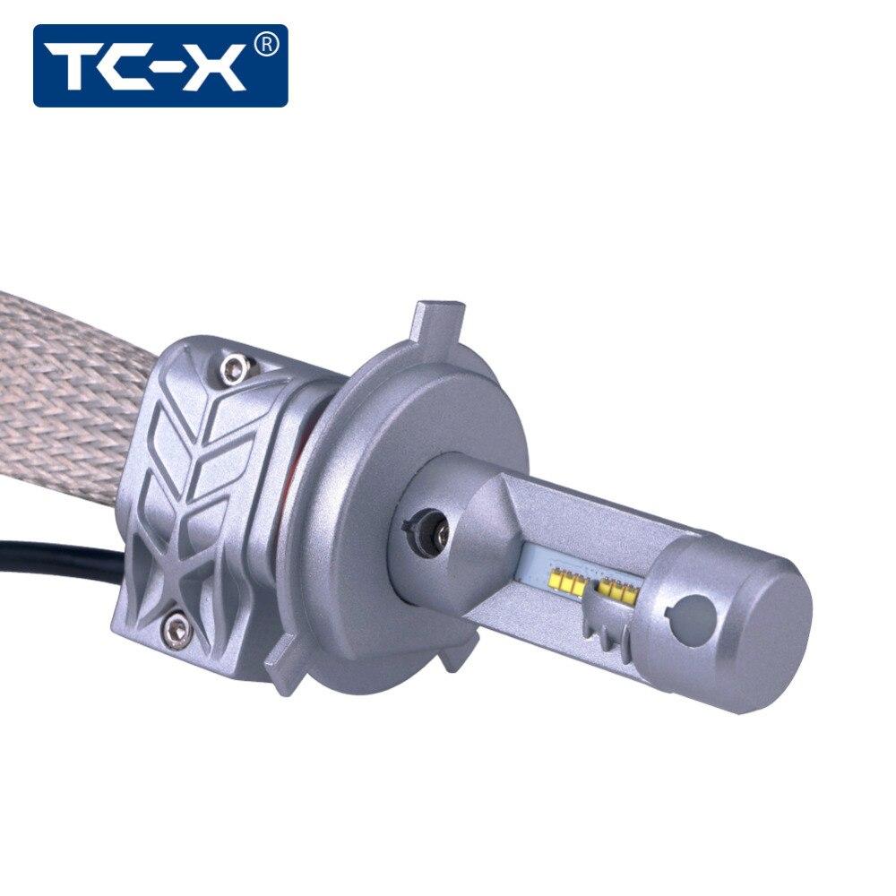 TC-X диод лампы H4 светодио дный для Honda jazz 2009 лампы для автомобилей авто светодио дный 12 вольт H4 высокий низкий пучок avtolampy frete grátis
