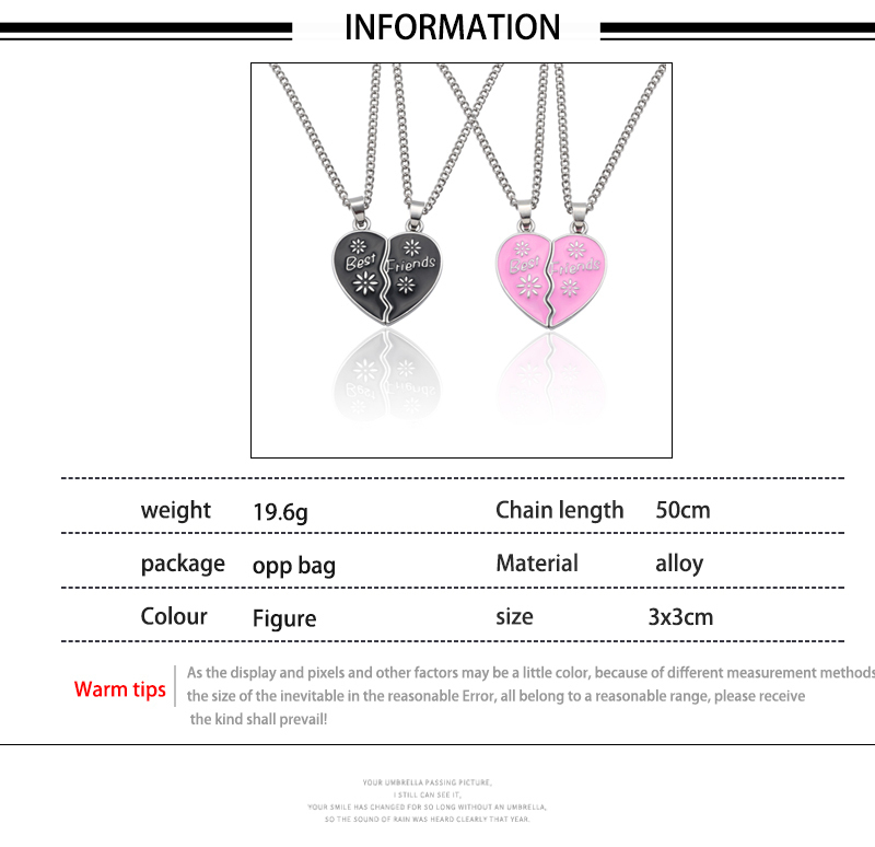 HTB11YLNXiLrK1Rjy1zdq6ynnpXax - Best Friend Necklace Women Crystal Heart Tai Chi Crown Best Friends Forever Necklaces Pendants Friendship BFF Jewelry Collier