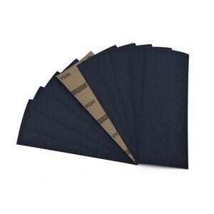Image 4 - Полиуретановая водонепроницаемая наждачная бумага, 9x3,6 дюймов, зернистость 320 10000