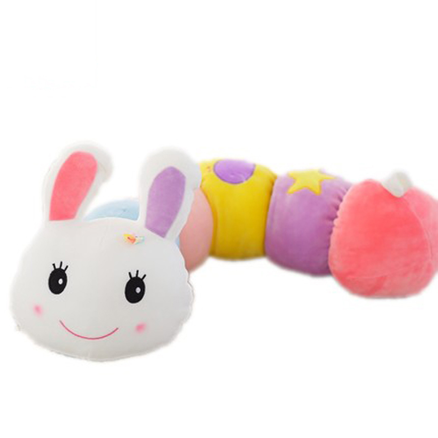 Children Rabbit Plush Toy Doll Stuffed Animals Cute Pillow Oyuncak Bebek Sleeping Baby Doll Coelho Pelucia Toys For Girls 50G482 50cm cute plush toy kawaii plush rabbit baby toy baby pillow rabbit doll soft children sleeping doll best children birthday gift