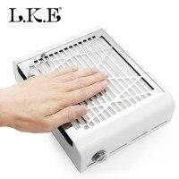 Пылесборник для ногтей пылесос Маникюр для маникюрных салонов 40 Вт пылесос с сильным мощный вентилятор многоразовый фильтр