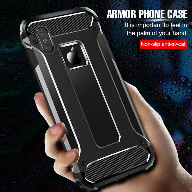 Lüks zırh yumuşak darbeye dayanıklı samsung kılıfı Galaxy A50 A70 A30 A40 not 10 10Pro S10 S10E artı silikon tampon arka kapak