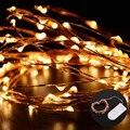 NUEVAS Cadenas de Luz de Alambre de Cobre de Alta Calidad A Prueba de agua Luz LED de Cadena de Hadas Luces de Navidad Del Banquete de Boda de Decoración
