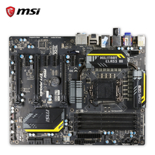 MSI Z77 mpower оригинальный использоваться для настольных ПК Z77 разъем LGA 1155 i3 i5 i7 DDR3 USB3.0 ATX на продажу