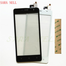 SARA NELL Phone Touch Screen Digitizer For micromax Q351 Panel Sensor Touchscreen Front Glass Lens Touchpad+3m Tape