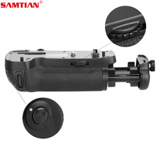 SAMTIAN Multi-functional Battery Grip Holder ABS Work with EN-EL15 Battery or eight Items AA Batteries for NIKON D500 DSLR Digital camera