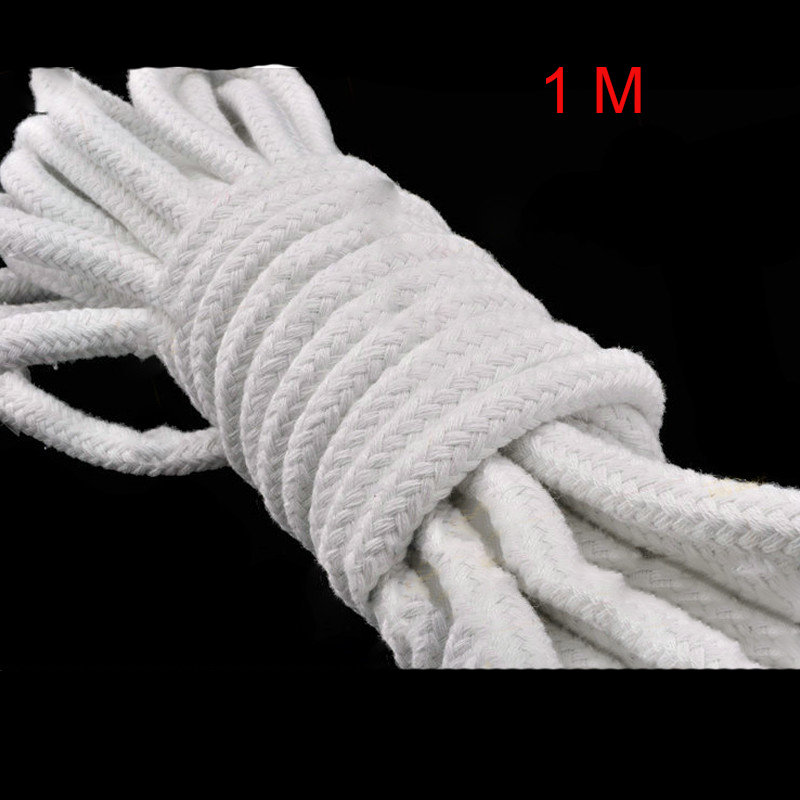 1 Meter Magic Rope for Professional Magician Making Magic Tricks Magic Props White Cotton Rope