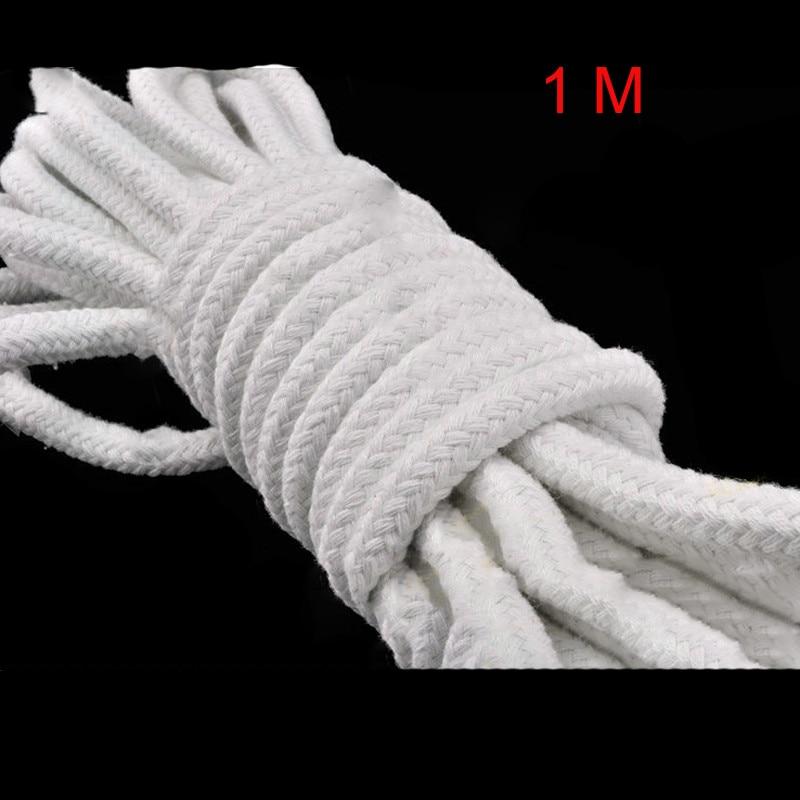 1 Meter Magic Rope For Professional Magician Making Magic Tricks Magic Props White Cotton Rope