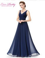 Evening Dresses Long Women Gown Vestidos Ever Pretty EP08877 2016 New Arrival V Neck Summer Style