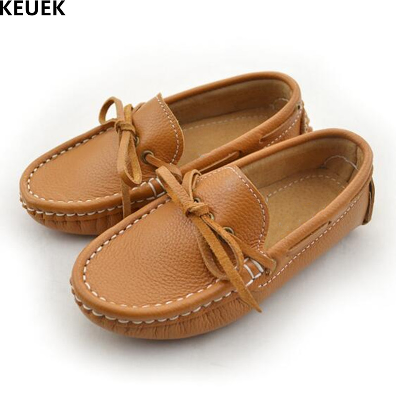 New Style Genuine Leather Brands Shoes Children Moccasins Boys Girls Flats Casual Loafers Baby Toddler Kids Parental Shoes 041New Style Genuine Leather Brands Shoes Children Moccasins Boys Girls Flats Casual Loafers Baby Toddler Kids Parental Shoes 041