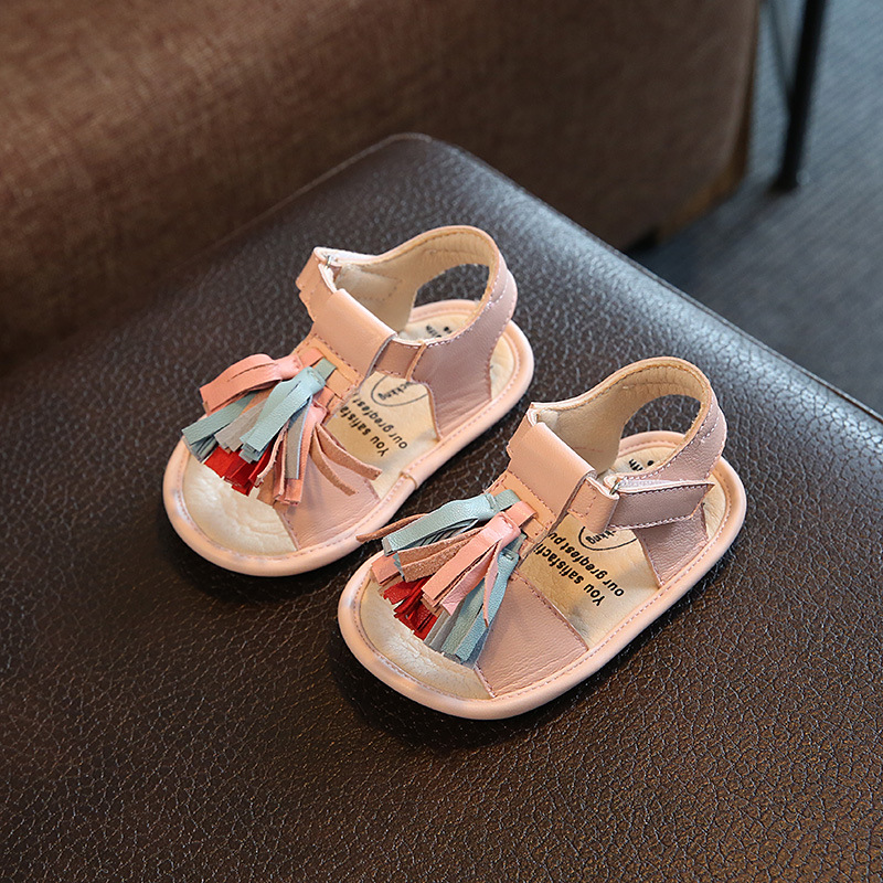 KIDS TOP STAR~Summer Cute Baby Toddle Beach Shoes with ...