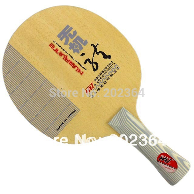 HRT Inorganic Dragon 4 shakehand (5 Hard Wooden + 2 Carbon) OFF+ Excellent Table Tennis Blade for PingPong Racket  china hrt