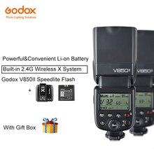 Godox V850II HSS Flash Da Câmera Flash de 2.4G com 2000 mAh Li-ion Bateria para Canon Nikon Canon Pentax Olympas